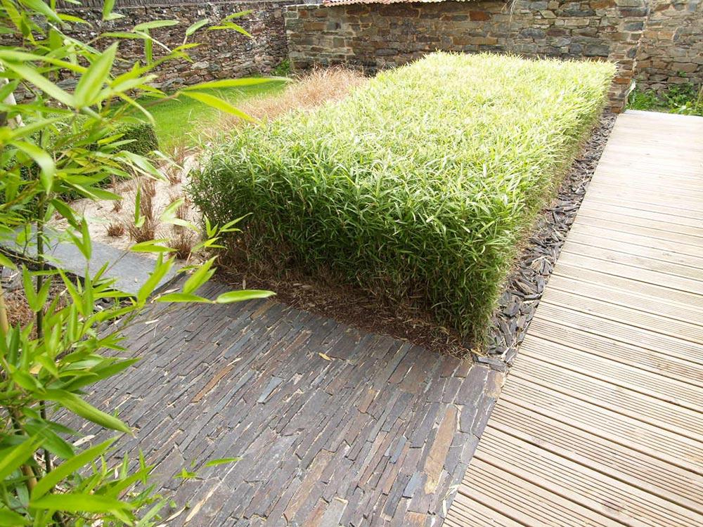 jardin privé aménagement paysager