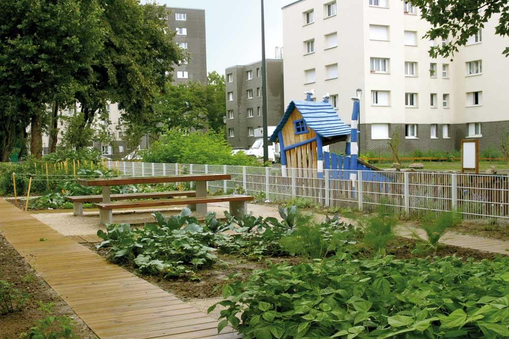 Quartier Pierre Sémard à Saint-Denis