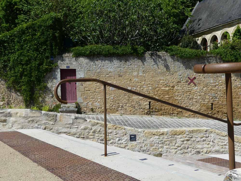 Durtal Place des terrasses amenagement paysager