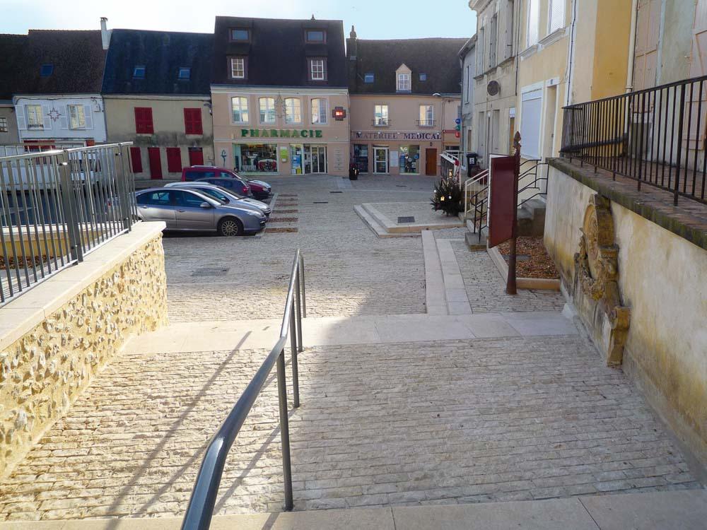Centre-ville Authon du Perche