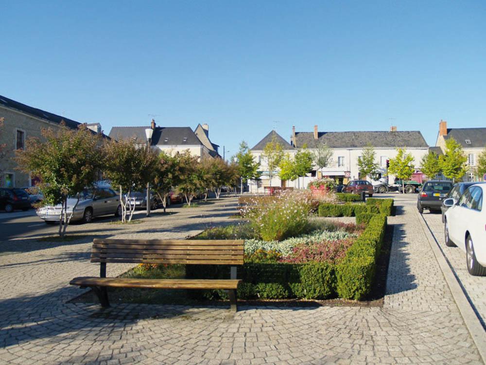 Centre-ville Malicorne Sarthe