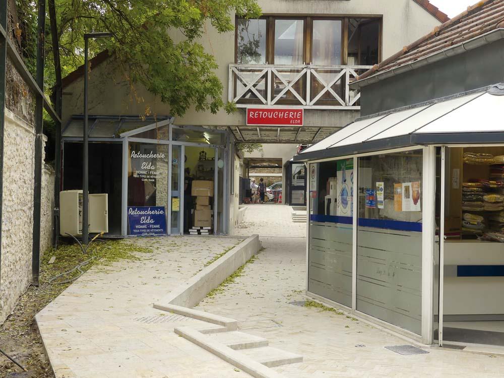 Centre-ville de Verrières le Buisson