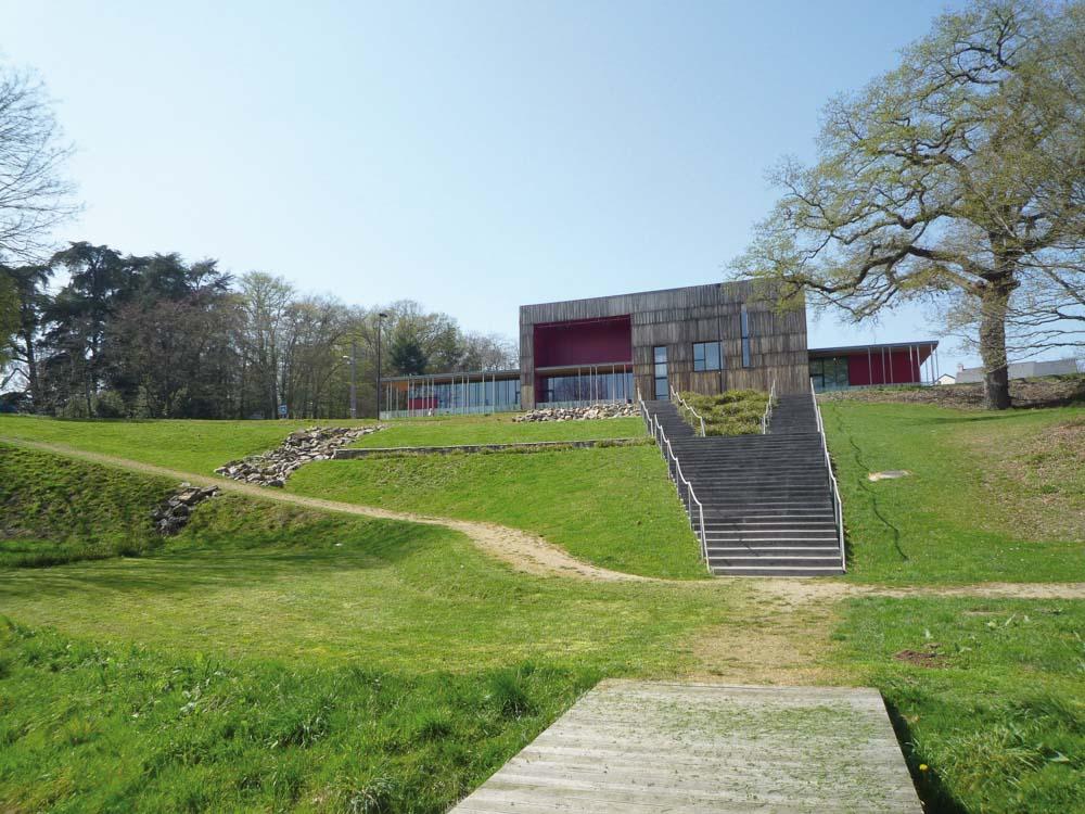 Salle culturelle à Mauves sur Loire