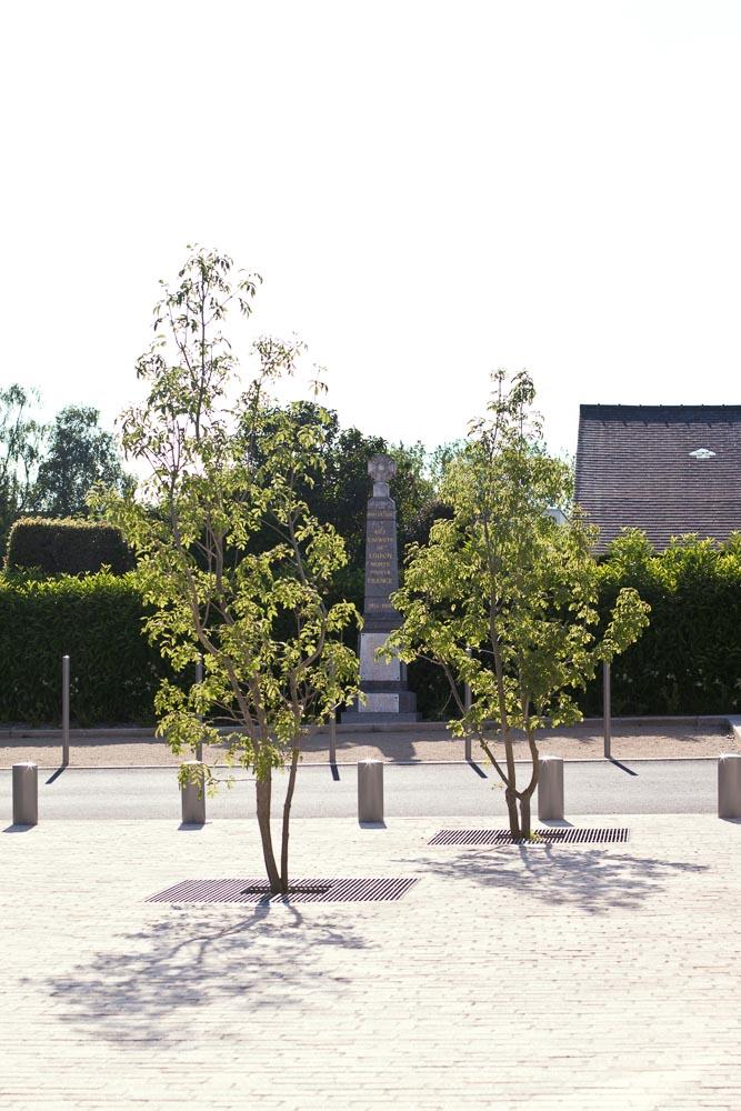 Loiron mairie et centre bourg