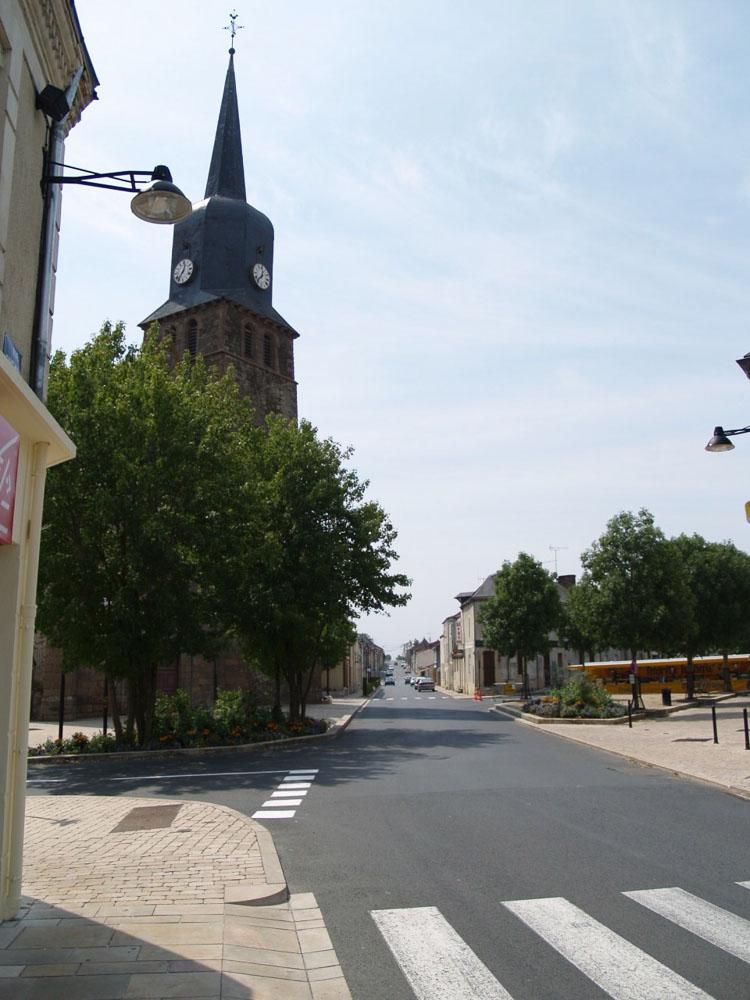 May sur Evre - Réaménagement du centre ville